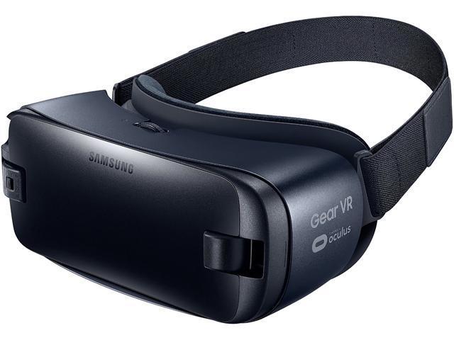 Samsung SM-R323NBKAXAR Gear VR R323 Powered by Oculus Blue Black