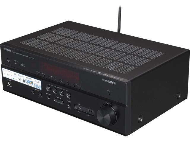 Yamaha rx v479 5 1 channel network av receiver with built for Yamaha rx v450 av receiver price