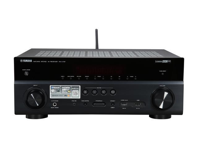 Yamaha rx v781 7 2 channel network a v receiver black for Yamaha rxv781 review