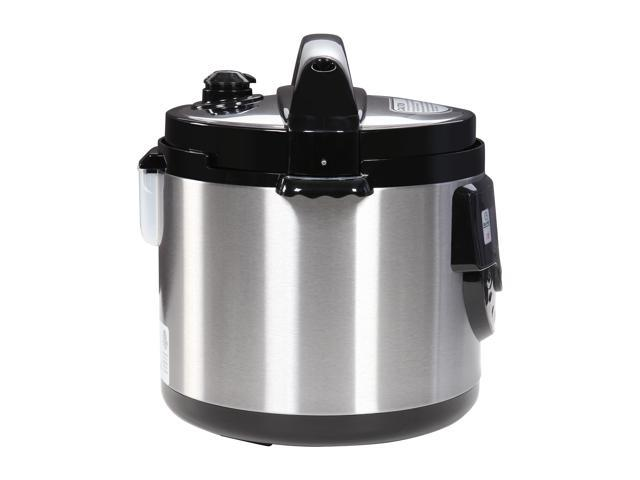 Tayama TMC-60XL 6 Quarts 8-in-1 Multi-Function Pressure Cooker, Black