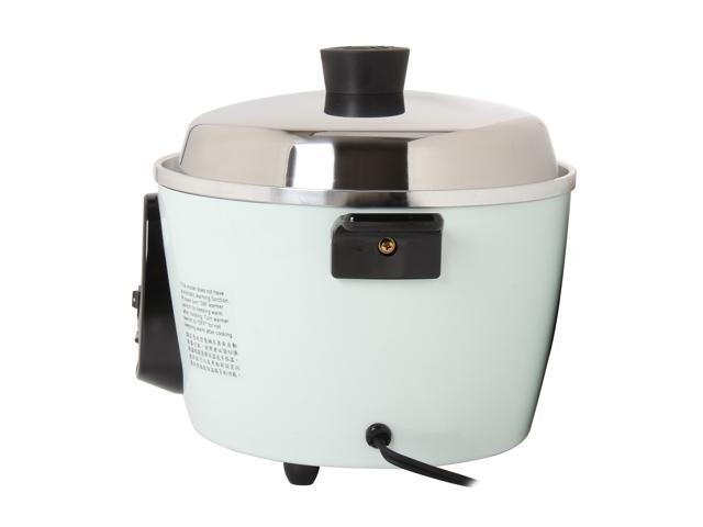 TATUNG Multi-Functional Cooker and Steamer, White, 12 Cups cooked//6 Cups uncooked ,TAC-06G(SF)