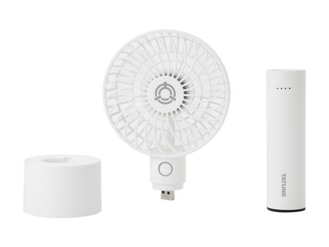 Tatung USB 3-in-1 Mini Fan and Power Bank TMF-2600H-WH
