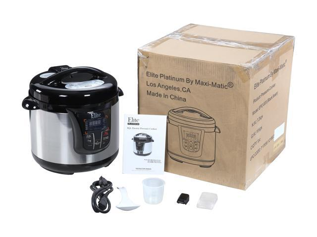 Refurbished: Elite EPC-808 8-Quart Programmable Electric Pressure Cooker