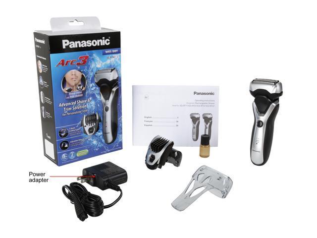 Panasonic Arc3 Men's 3-Blade Wet/Dry Electric Shaver ES-RT47-S