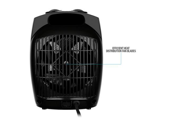Rosewill RHAH-13001 - 1500-Watt Quick Heat Ceramic Heater with Tip-Over Safety Switch