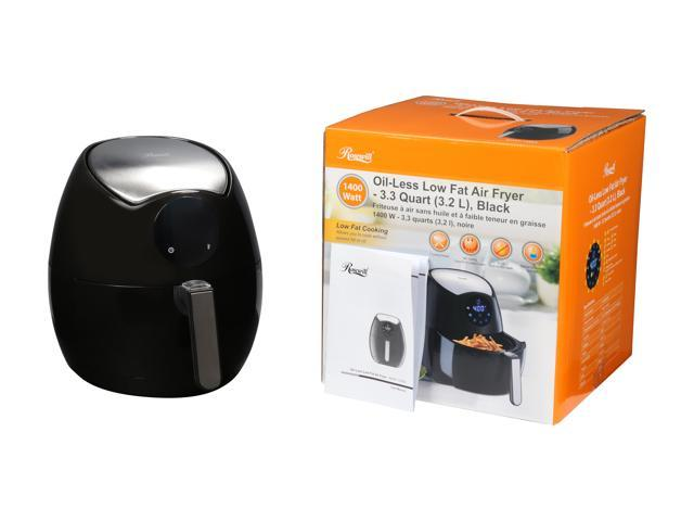 Rosewill RHAF-15003 1400 W Oil-Less Low Fat Digital Touch Screen Air Fryer - 3.3 Quarts (3.2 L), Black