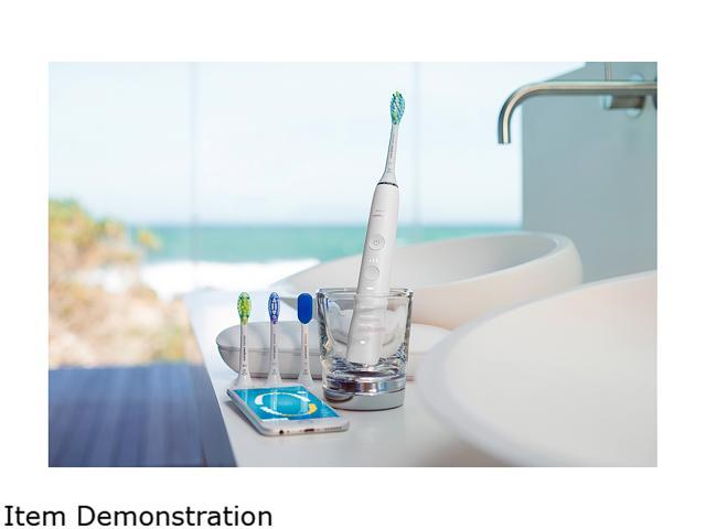 Sonicare HX9924/01 DiamondClean Smart 9500 Series Sonic Electric Toothbrush with Bluetooth and App, White