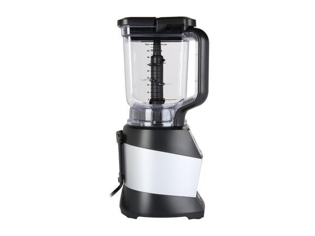 Ninja BL490T Black 72 oz. Jar Size Nutri Ninja Auto-iQ Blender, Black