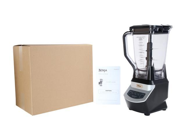 Refurbished: Ninja Professional Blender (NJ600) XL 3-Speed & Pulse 1000W Master Prep