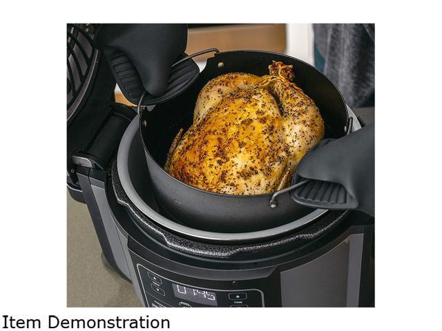 Refurbished: Ninja OP302 Foodi Cooker, Steamer & Air with TenderCrisp Technology Pressure Cooker