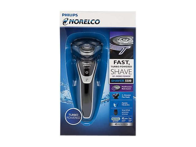 Philips Norelco Shaver 5500 Wet & Dry Electric Shaver Series 5000 S5370/81