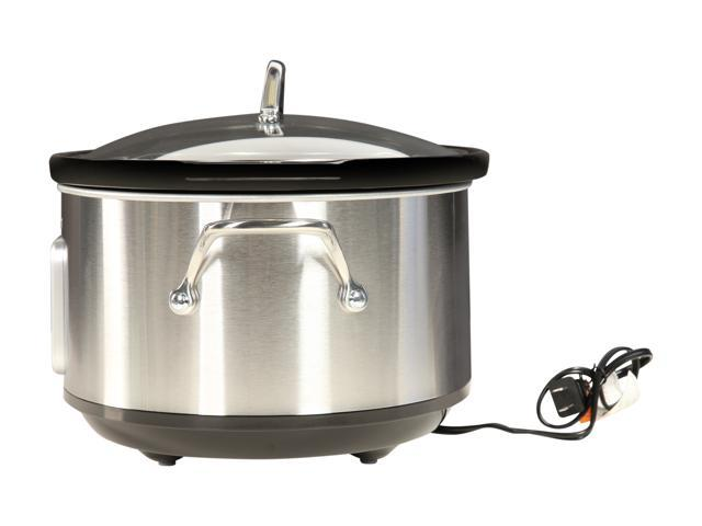 Midea 6.5 Qt. Slow Cooker with 16 oz. Warmer Crock MSC1765DIP