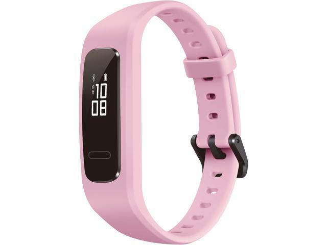 HUAWEI Band 3e Smart Fitness Activity Tracker, Dual Wrist & Footwear Mode, 5ATM Water Resistance for Swim, Professional Running Guidance, Pink (AW70-B29)