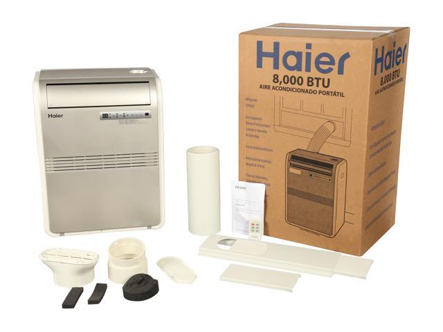 Refurbished: Haier HPRB08XCM-T 8,000 Cooling Capacity (BTU) Portable Air Conditioner