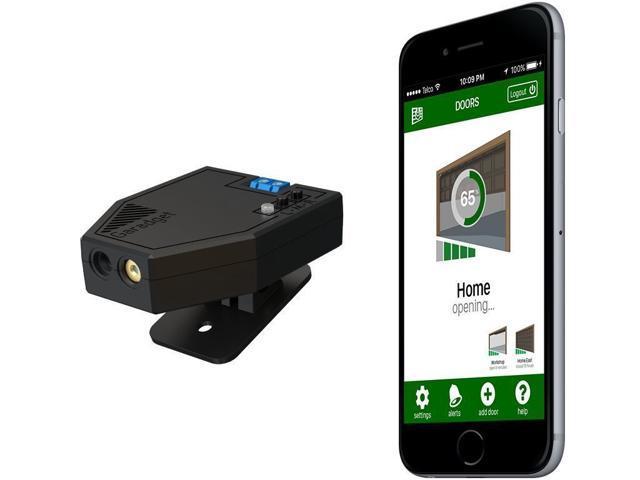 Garadget - Remotely Control and Monitor Garage Door with Smartphone - Amazon Alexa, Google Assistant, Apple HomeKit & IFTTT compatible