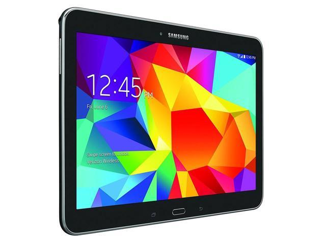 """Refurbished: Galaxy Tab 4 10.1"""" 16GB Black Wifi + 4G Verizon (SM-T537V)"""