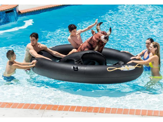 Intex Giant Inflatabull Bull-Riding Inflatable Pool Float