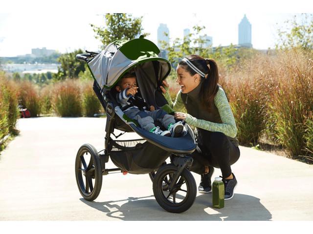 Baby Jogger BJ31440 - Summit X3 Single Jogging Stroller - Green Gray