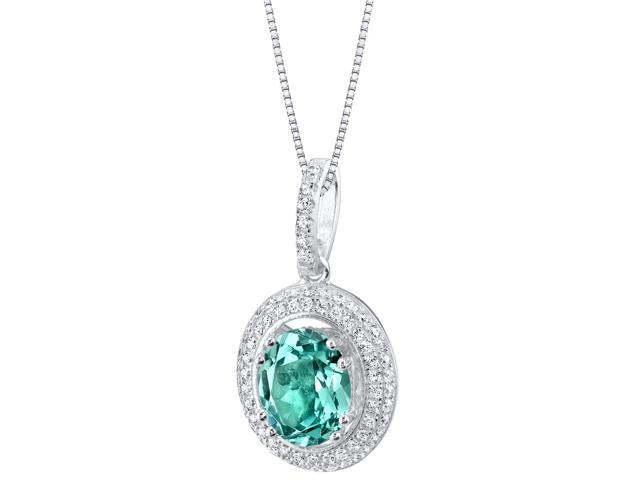 Simulated paraiba tourmaline sterling silver harmony pendant simulated paraiba tourmaline sterling silver harmony pendant necklace aloadofball Image collections