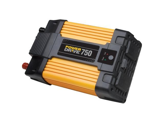 PowerDrive RPPD750 750-Watt DC to AC Power Inverter with USB Port and 2 AC Outlet RPPD750 POWERDRIVE