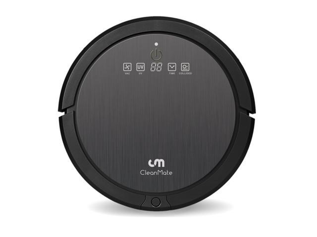 CleanMate CM3 Robot Vacuum Cleaner for Carpet and Hardwood Floors with Ultrasonic Sensors & Auto Scheduling
