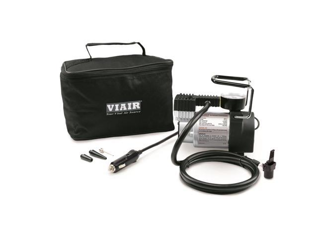 Viair 74P Portable Compressor Kit (Sport Compact Series, 12V, 100 PSI, for Passenger Car Tires w/ Clamp Down Chuck) 00074