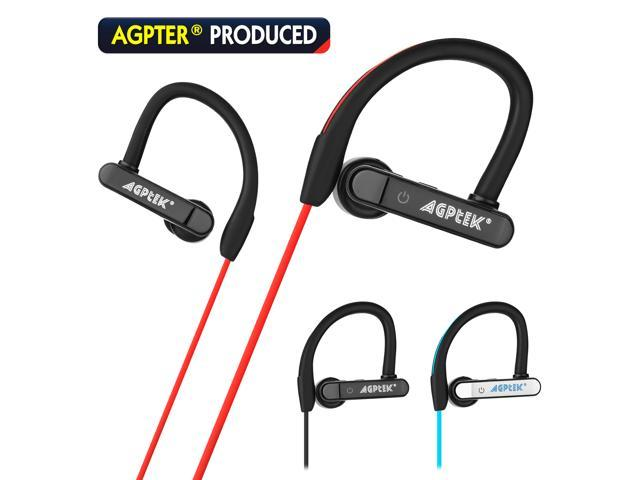 AGPtek Waterproof Bluetooth Earbuds Beats Sports Wireless Headphones in Ear Headsets
