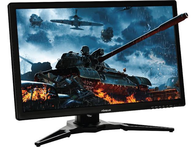 "Nixeus EDG 27"" IPS 2560 x 1440 AMD FreeSync Certified 144Hz Gaming Monitor with Premium Height Adjustable Ergonomic Stand (NX-EDG27)"