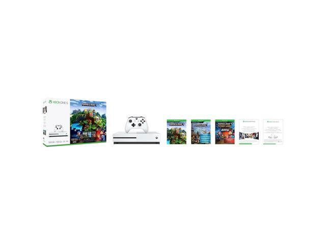 Microsoft Xbox One S 500GB Console - Minecraft Complete Adventure Bundle