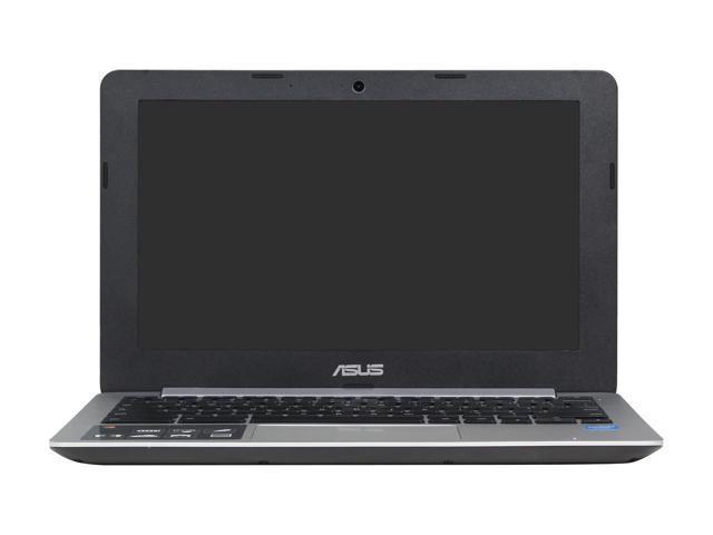 """Refurbished: ASUS C200MA-DS01 Chromebook Intel Celeron N2830 (2.16 GHz) 2 GB DDR3 Memory 16 GB eMMC SSD 11.6"""" Chrome OS"""