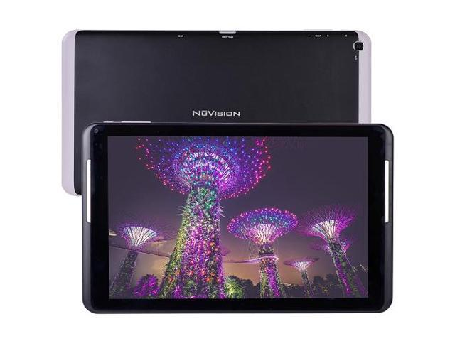 NuVision TM101A550L Atom Z3735G 10.1-inch Capacitive IPS Tablet  - Black