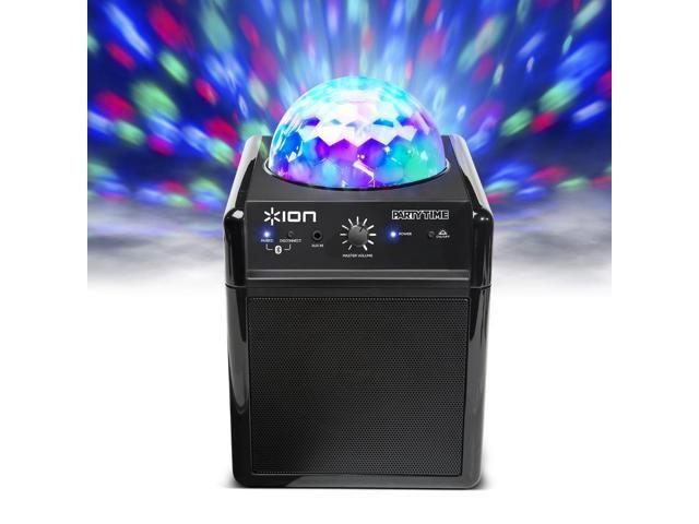 Refurbished: Ion Power Bluetooth Wireless Speaker System with Disco Party LED Lights - iPA19C