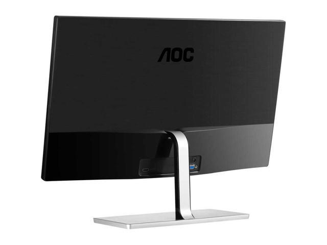 "Refurbished: 27"" AOC I2779VH LED LCD IPS Slim Bezel Monitor HDMI, VGA 1080p Widescreen, Black"