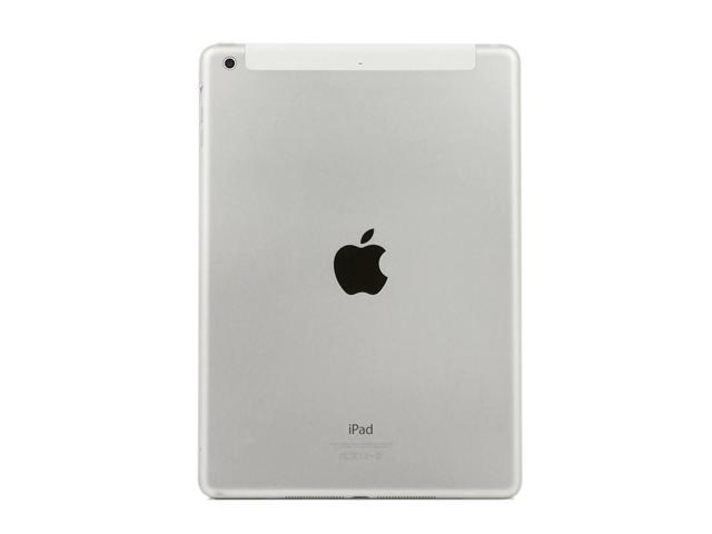 "Refurbished: Apple iPad Air 2 9.7"" 64GB Cellular + WiFi Tablet - White & Silver - MH2N2LL/A"