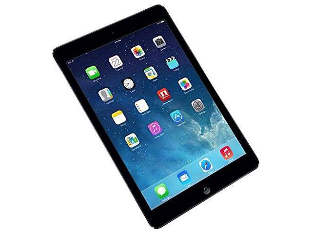 "Refurbished: Apple iPad Air WiFi 16GB iOS 7 9.7"" Tablet - MD785LL/A - Space Gray"