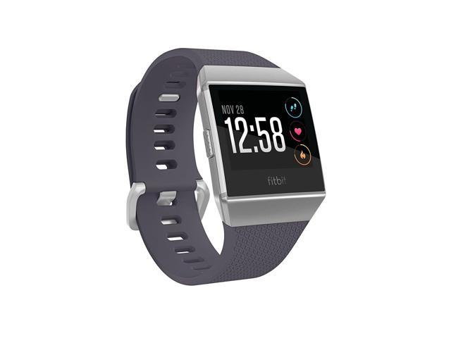 Fitbit Ionic Smartwatch, Blue-Gray/Silver, One Size (S & L Bands Included)