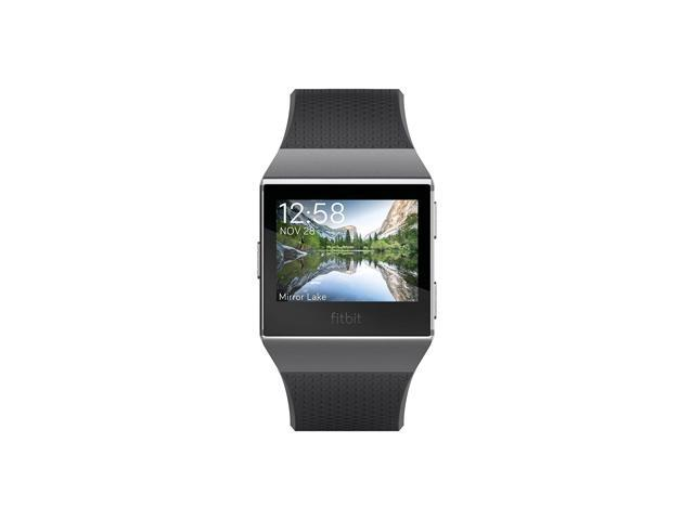 Fitbit Ionic Smartwatch, Charcoal/Smoke Gray, One Size (S & L Bands Included)