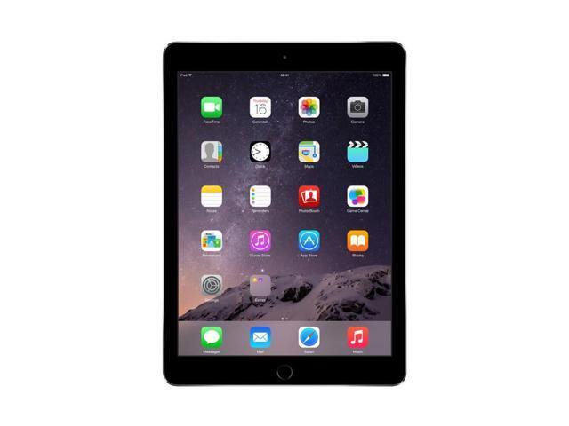 "Refurbished: Apple iPad Air 2 WiFi 16GB iOS 9.7"" Retina Tablet - Space Gray - MGL12LL/A"