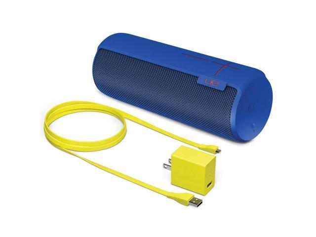 Refurbished: Logitech Ultimate Ears MEGABOOM Water Resistant Bluetooth Wireless Speaker Blue