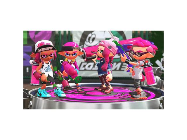 Nintendo Switch, Splatoon 2 Video Game, Featuring Solo and Multiplayer