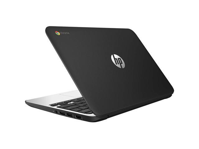Refurbished: HP ChromeBook 11 G4 EE: 11.6-inch (1366x768) Intel Celeron N2840 2.16GHz, Gray - OEM