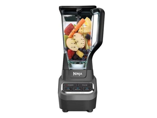 Refurbished: Ninja BL610 Professional Blender, 1000-Watt, Black (Certified Refurbished)