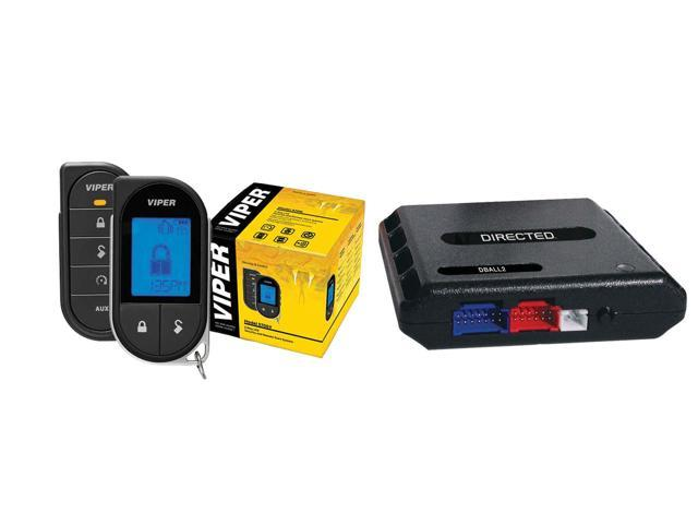 Refurbished: Viper 5706V with Dball2 Interface Module Responder LC3 Super Code SST 2-way LCD Pager Remote Start Car Alarm 1-Mile Range with Bypass Module