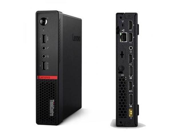Lenovo Desktop Computer ThinkCentre M715q (10M30009US) A12-Series APU PRO A12-9800E (3.10 GHz) 8 GB DDR4 128 GB SSD AMD Radeon R7 Windows 10 Pro 64-Bit