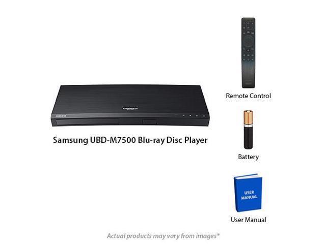 Samsung UBD-M7500 4K UHD Universal Blu-Ray Player