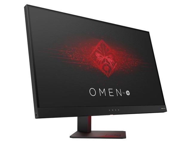 "HP Omen 27"" Gaming Monitor Black, 165Hz 1ms, G-sync, TN Panel, Height Adjustable, HDMI/Display Port/USB 3.0 x 2"