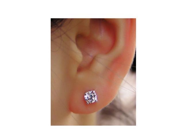 SightHolderDiamonds 1/3 ctw SI Genuine Diamond Earrings Set In 14k Gold
