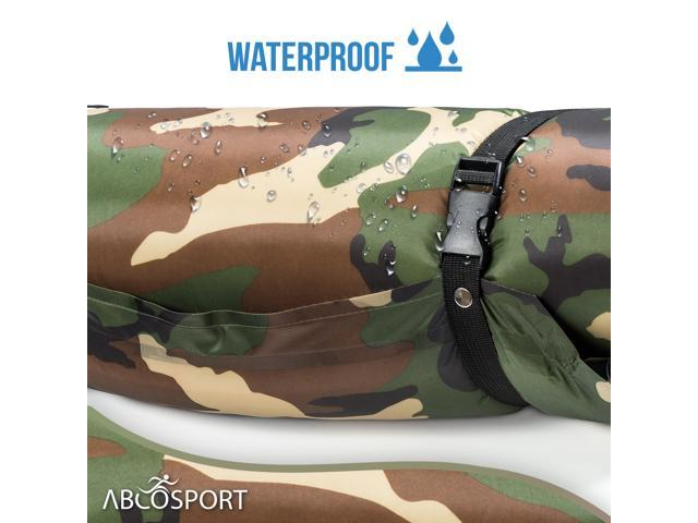 Self-Inflating Sleeping Pad With Pillow