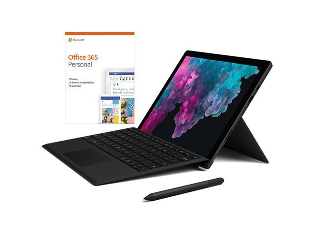 "Surface KJT00001 Pro 6 12.3"" Bundle w/ Pen, Keyboard and Office"