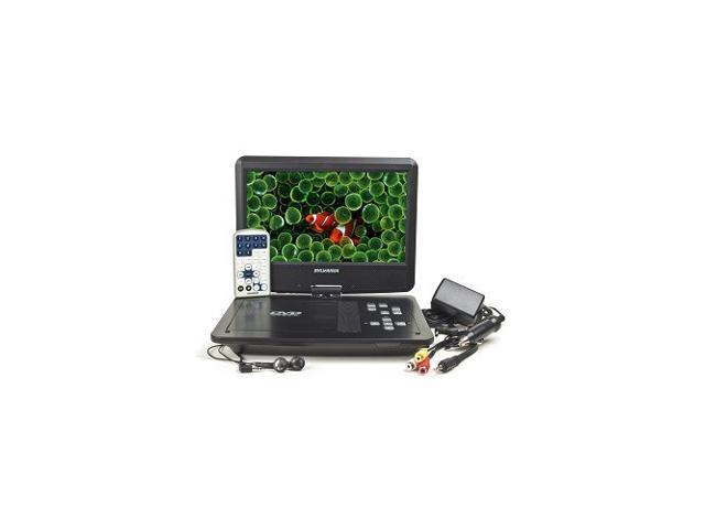 Refurbished: Sylvania SDVD1030 10-Inch 1024 x 576 USB Port Swivel Widescreen Portable DVD Player - Black